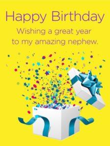 Happy birthday genius nephew