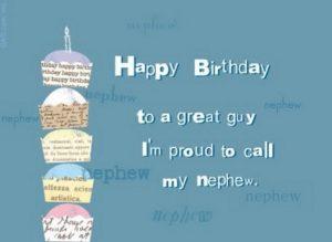 Happy birthday witty nephew