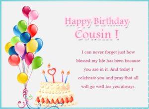 happy birthday amazing cousin