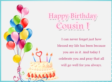 happy birthday amazing cousin