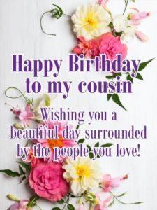 happy birthday beautiful cousin