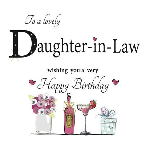 happy birthday beautiful daughter in law