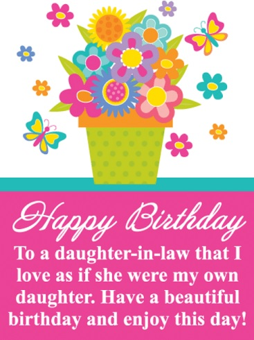happy birthday beloved daughter in law