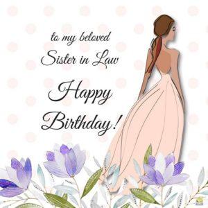 happy birthday beloved sister in law