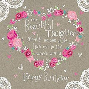 happy birthday brilliant daughter