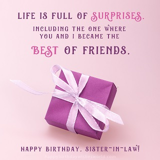 happy birthday fantastic sister in law