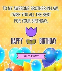 happy birthday great brother in law