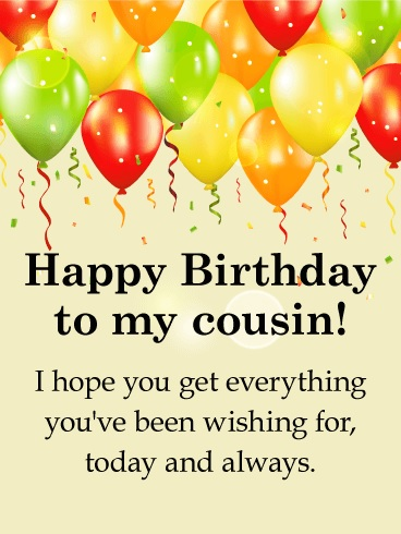 happy birthday pamper cousin