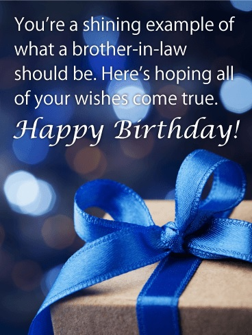 happy birthday pampered brother in law