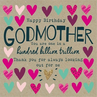 happy birthday to you godmother