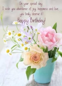 happy birthday to you kindly granddaughter