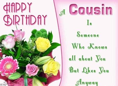 happy birthday wonderful cousin