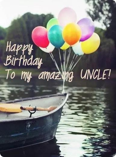 Happy birthday amazing uncle