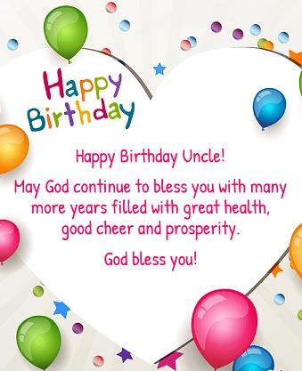 Happy birthday fantastic uncle