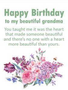Happy birthday to you brilliant grandmother