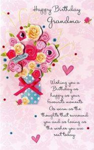 Happy birthday to you dear grandmother