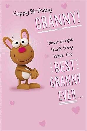 Happy birthday to you genius grandmother