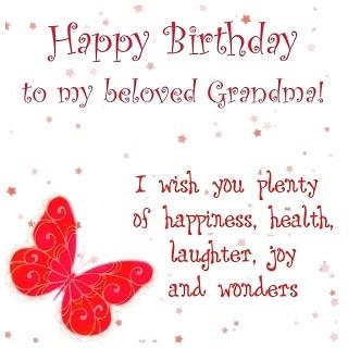 Happy birthday to you intelligent grandmother