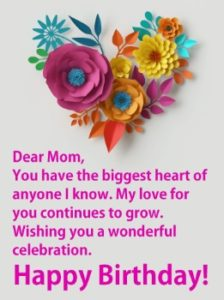 happy birthday appreciated mom