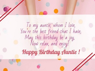 happy birthday beauty aunt