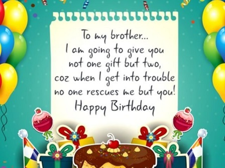 happy birthday brilliant brother