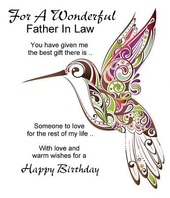happy birthday brilliant father in law