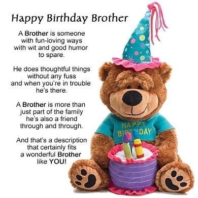 happy birthday smart brother