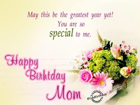 happy birthday special mom