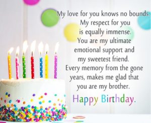 happy birthday sweet brother