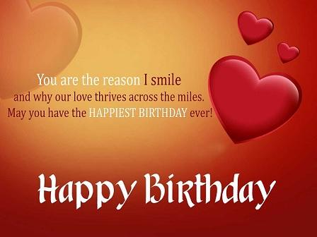happy birthday sweet love