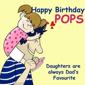 Happy birthday pretty dad