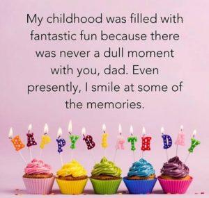 Happy birthday success dad