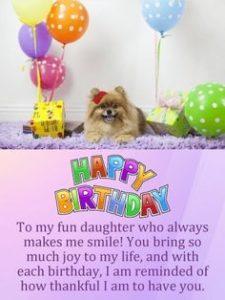 happy birthday fun daughter