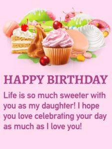 happy birthday lovely daughter