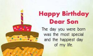 happy birthday lovely son