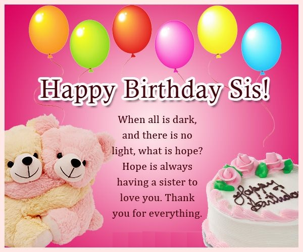 happy birthday pretty sister