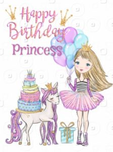 happy birthday sweet princess