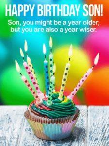 happy birthday wiser son