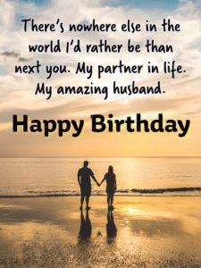 happy birthday amazing husband