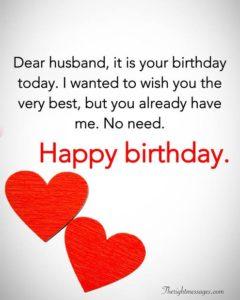 happy birthday awesome husband