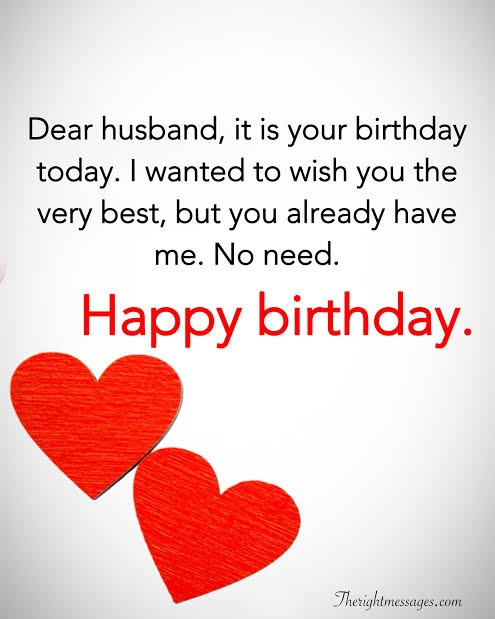 happy birthday awesome husband