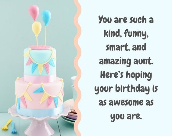 happy birthday beauty aunt