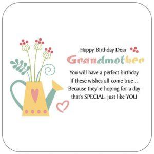 happy birthday beauty grandmother