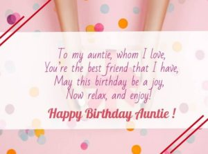 happy birthday beloved aunt