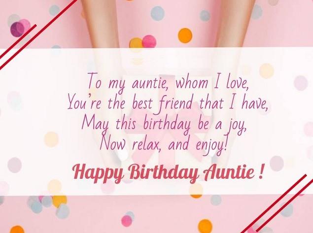 happy birthday beloved aunt