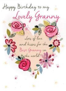 happy birthday beloved grandmother