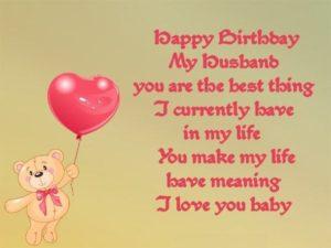 happy birthday beloved husband