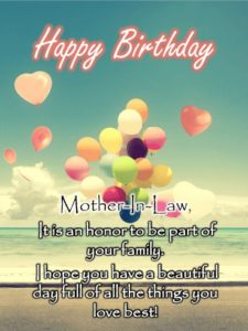 happy birthday beloved mother in law
