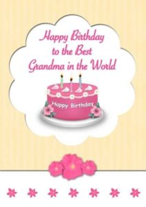 happy birthday brilliant grandmother