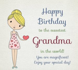 happy birthday dear grandmother